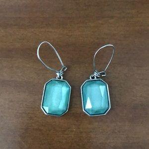 New York & Company blue/green earrings